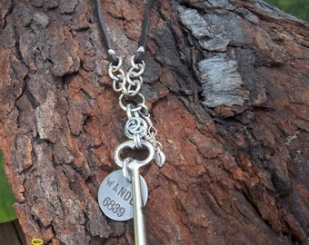 The Wandering Skeleton Key Necklace, # 4 Skeleton Key, This is NOT a Reproduction Key