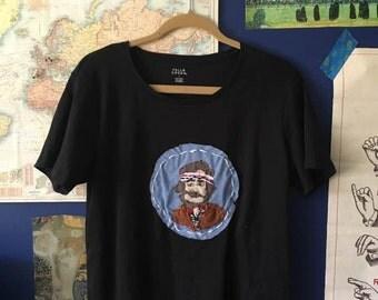 richie tenenbaum character t shirt