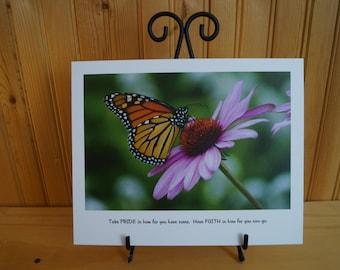 Motivational Butterfly Art