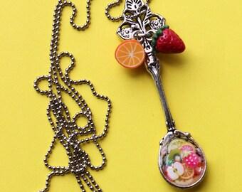 Necklace - spoon GOURMANDE