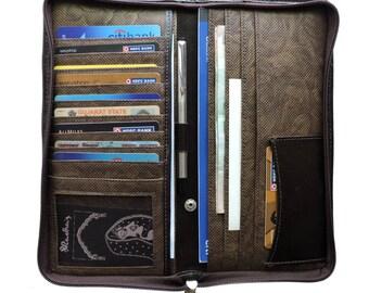 Travel Wallet- Travel Clutch Wallet-Wallet Card Holder--Women's Clutch-Card Wallet-Pasport wallet-Men's wallet-Travel wallet organizer