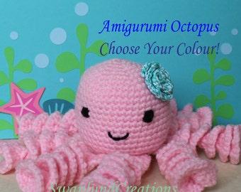 Amigurumi Toy Octopus