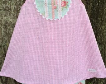 Little Rose Capri Set Size 4