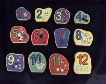 Numbers, number set, educational toys