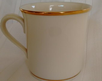 Lenox Eternal mug  fine china   coffee cup