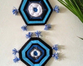 Ornament handmade - wide and per unit wall hanging