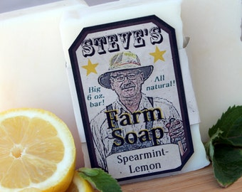 STEVE'S Farm Soap (pack of 3 bars, any scents)