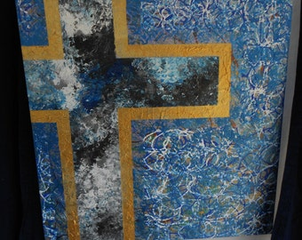 Blue Marbled Cross