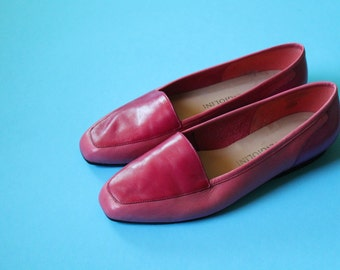 Vintage Enzo Angiolini Color Block Loafers ~ Size 7.5