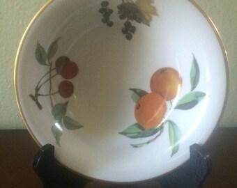 Royal Worcester Evesham Soup Bowl