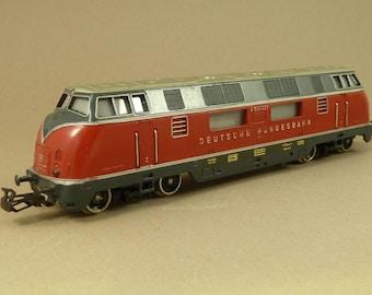 Marklin HO Diesel Locomotive 3021 V200 027 Three Rail DB Class Train Vintage