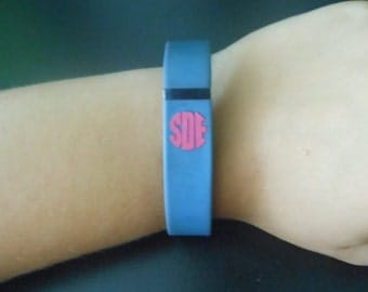 FitBit Flex Monogram, FitBit Flex Monogram Decal