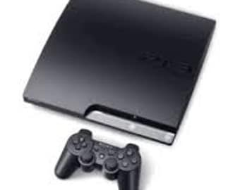play station 3 320gb 4 games