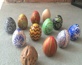 Easter Eggs// Pisanki// Hand Painted Polish Eggs// Customizable