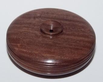 Mini Turned Vessel - Kiaat wood from South Africa