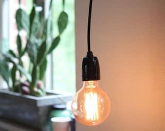 Industrial hanging lamp vintage