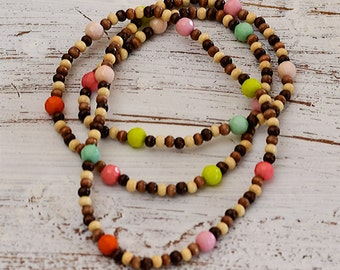 Earthy Bohemian Multi-Functional Necklace/Bracelet