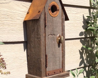 Birdhouse with Faux Door 2