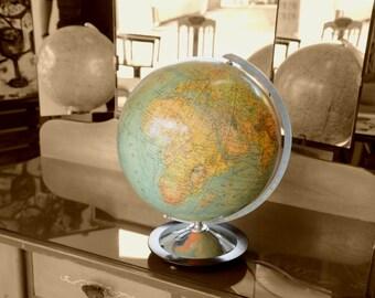 30's vintage globe lamp