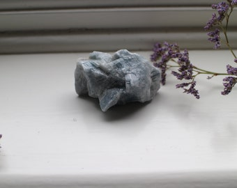 blue calcite cluster