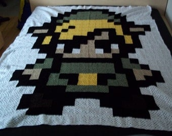 Legend of Zelda - Link throw blanket / Decke