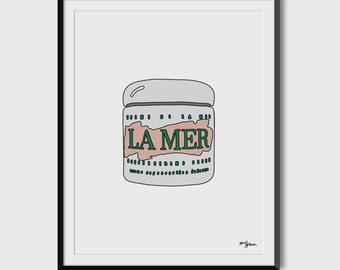 Creme de La Mer 8.5 x 11 Print