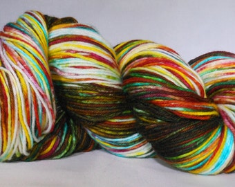 SUGAR MOUNTAIN, Hand Dyed Sock Yarn, Fingering Weight Sock Yarn, Indie Dyed Sock yarn, Superwash merino, Gradient Yarn