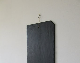 Natural to hang on the wall slate tray