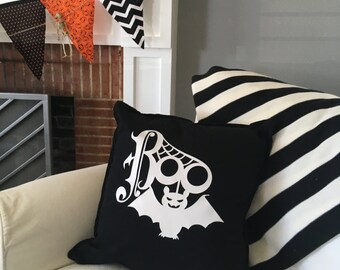 Halloween Boo Pillow