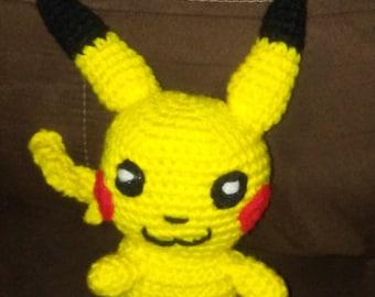 Crochet Pokemon Pikachu