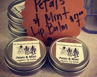 Petals & Mint Lip Balm