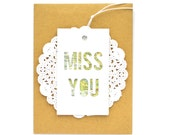 Map Tags, Miss You, Gift Tags Set of 6, Gift Packaging, Gift Tags, Present Tags, Travel Themed, Goodbye