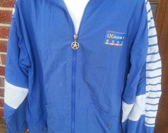 Vintage 80s Windsuit Windbreaker Jacket Size