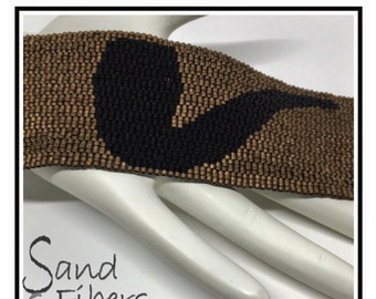 A Nod to Magritte:  This is Not a Pipe  - A Sand Fibers For Personal and Commercial Use PDF Pattern