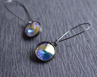 The Chrissy- Clear AB Swarovski Earrings