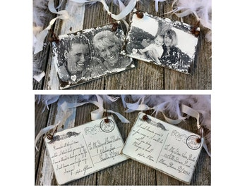 HEAVEN Christmas Ornament | Personalized | In Loving Memory | Sympathy Gift | Loss of Loved One | Miscarriage Ornament | Memorial Ornament