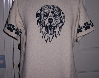 Custom Knit Golden Retriever Dog Sweater ****Create your own sweater see below*****