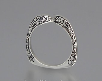 COUNTESS band in sterling silver (for sizes 7-9.5)