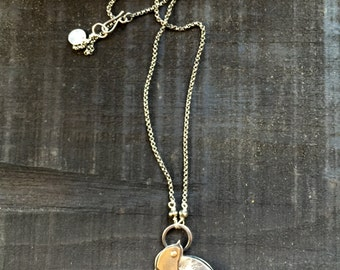 Sterling swallow necklace
