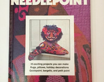 Vintage Needlepoint Book by Better Homes and Gardens 1978
