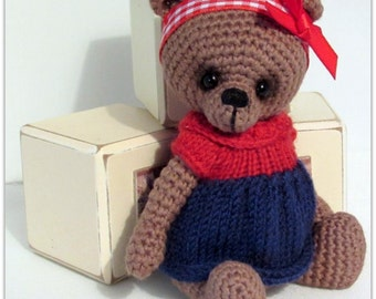 Amigurumi Bear by Bracken Bears