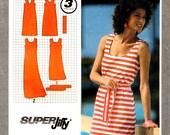 Simplicity 9522 JIFFY Pullover Tank Dress ©1981