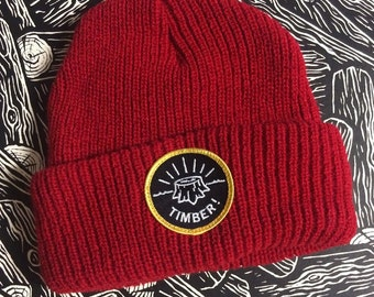 STUMP beanie red