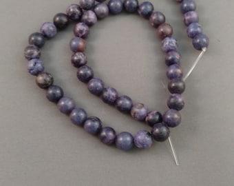 Blue/Purple Stone Beads