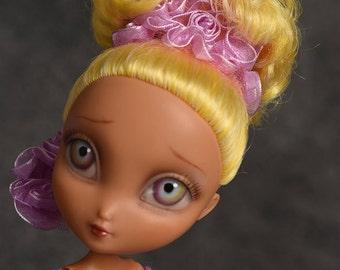Marianez - a ooak repaint and redress La Dee Da Rowdy Shouty Chic doll by awsumgal