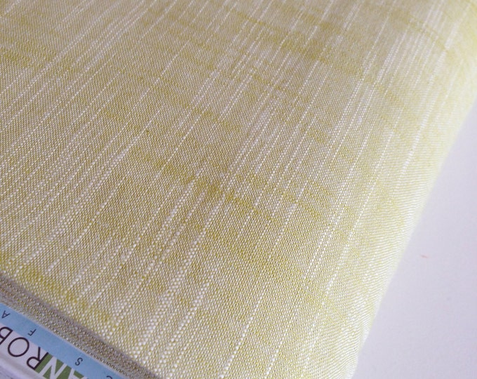 SALE Fabric, Manchester in Kiwi, Yarn Dyed, Woven fabric, Cotton fabric, Light Green fabric, Apparel fabric, Quilt fabric, Choose your cut