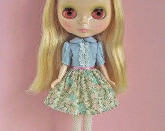 Soda girl dress for Blythe