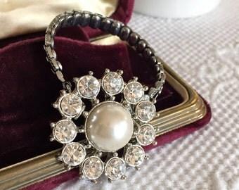 Cute as a Button Vintage Assemblage Bracelet