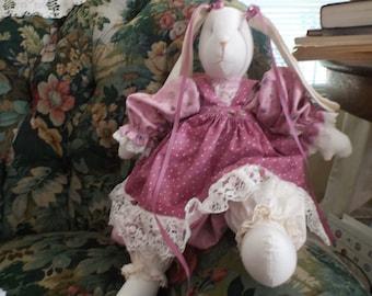 Stuffed Bunny Rabbit  Violet