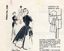 """Vintage Sewing Pattern 1950's Ladies' Dress & Trousers Spadea 1164 35"""" Bust - Free Pattern Grading E-Book Included"""